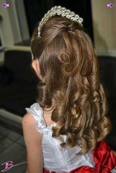 30 Penteados Para Daminhas: Fotos, Passo-a-passo, Como Fazer