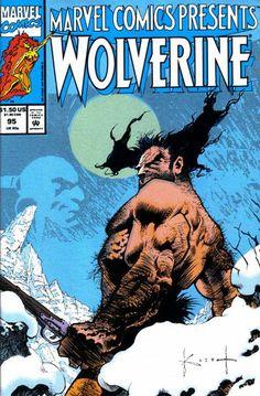 Marvel Comics Presents # 95 by Sam Kieth