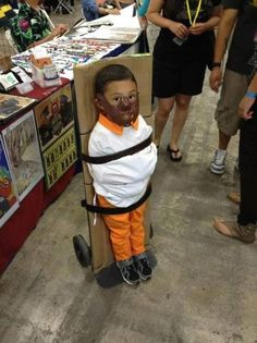 Best Halloween costume ever - Baby Hanibal Lecter via James Jono McNichols