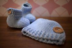 Conjunto de ganchillo para #bebe (0-6 meses) #baby #crochet #handmade #ganchillo