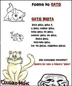 Poema do gato (um pouco de humor).