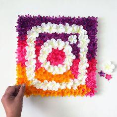 Floral Instagram Logo