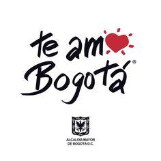 Te Amo Bogotá #TeAmoBogotá Company Logo, Logos, Te Amo, Logo, Legos
