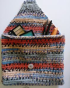 A great tunisian beginner one-skein project. More details in blog post!