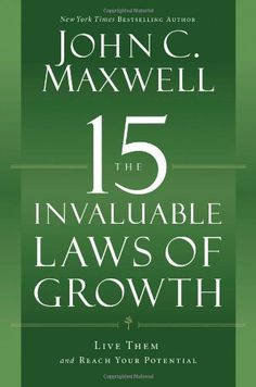 The 15 Invaluable Laws of Growth: Live Them and Reach Your Potential  for more details visit :http://kindle.megaluxmart.com/