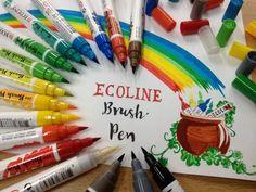 ECOLINE  BRUSH  PEN   Il nuovo Talens Ecoline !   Ecoline Brush Pen è la novità assoluta 2016 Pennarello con la punta a pennello che asciuga rapidamente ed è fantastico utilizzato su carta da acquerello. In 29 tonalità + il Blender per le sfumature.  Vieni a provarlo a Colour Academy Belle Arti , Bari  #talensecoline #ecolinebrushpen #brushpen #marker   #sketching #watercolor #ink #drawing #art #bari