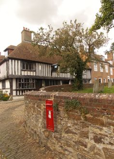 The Tudor Saint Anthony taken from Church Street in Rye, East Sussex, England, by B Lowe