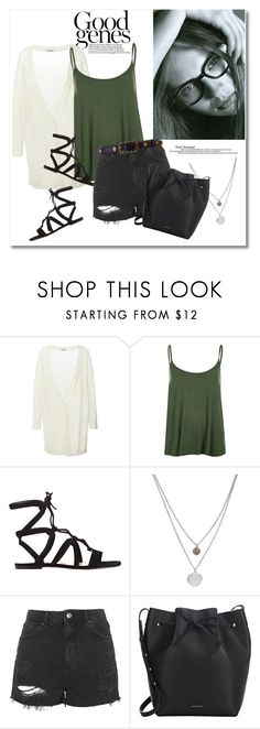 Get the look by vkmd on Polyvore featuring Cacharel, WearAll, Topshop, Gianvito Rossi, Mansur Gavriel, Kenneth Cole and Chanel