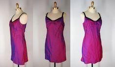 Mermaid Mini Dress Chameleon Purple Dress by EleanorsAntiquities