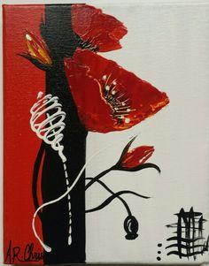Peinture acrylique sur toile 19x24 By Raffin Christine