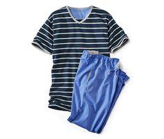 Pyžamo 315014 z e-shopu Tchibo. Tops, Women, Fashion, Moda, Fashion Styles, Fashion Illustrations, Woman