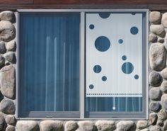 Simple Fensterfolie Sichtschutzfolie No UL Rollo Holes Milchglasfolie