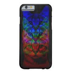 HIPSTER CAT ART iPhone 6 CASE