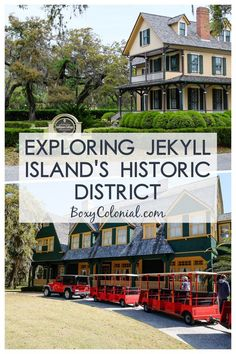Exploring Jekyll Island GA's historic district: Passport to the Century tram tour Vacation Places, Vacation Spots, Places To Travel, Vacation Ideas, Oh The Places You'll Go, Places To Visit, Jekyll Island Georgia, St Simons Island, Us Travel Destinations