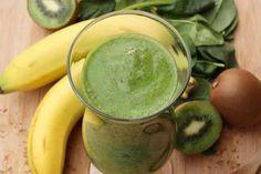 Смузи из киви и банана рецепт   Готовим рецепты