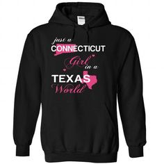 (CTJustHong001) Just A Connecticut Girl In A Texas Worl - #cheap shirts #design tshirts. WANT  => https://www.sunfrog.com/Valentines/-28CTJustHong001-29-Just-A-Connecticut-Girl-In-A-Texas-World-Black-Hoodie.html?id=60505