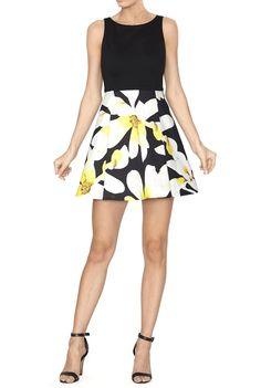 Kourtney Box Pleat Dress | Alice and Olivia