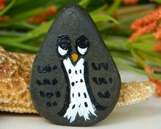 Painting Stones and Rocks | See the small card with the code on it? The seller printed that out ...