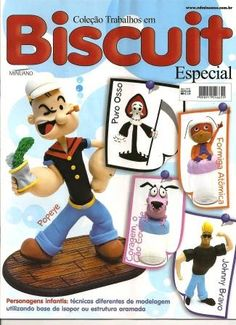 Biscuit especial personajes - Chicabach Analía Marina - Picasa Web Albums Puro Osso, Popeye And Olive, Picasa Web Albums, Cold Porcelain, Free Books, Biscuits, Diy And Crafts, Family Guy, Pure Products