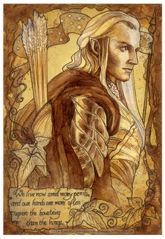 Hobbit illustrations done with water color and tea stains. Description from pinterest.com. I searched for this on bing.com/images