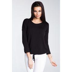 Bluza dama tricotata neagra cu maneci lungi   #bluzetricotatedama Long Sleeve, Sleeves, Tops, Women, Fashion, Elegant, Tricot, Moda, Long Dress Patterns