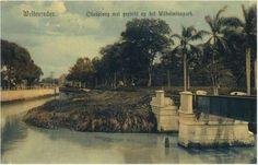 Citadelweg met gezicht op het Wilheminapark. Ca 1910