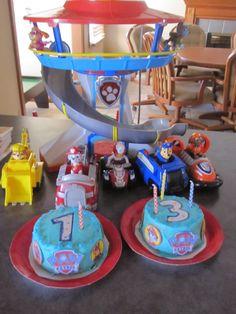 Paw Patrol Birthday: Cake Display