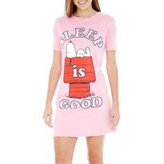 Snoopy Short-Sleeve Nightshirt