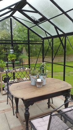 Greenhouse at Guesthouse St. Michael. #convertedchurch #holidayhome #Netherlands