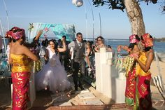 Congratulations to the happy couple, Natalie and Djorn who celebrated their wedding at The Westin Resort Nusa Dua, Bali.
