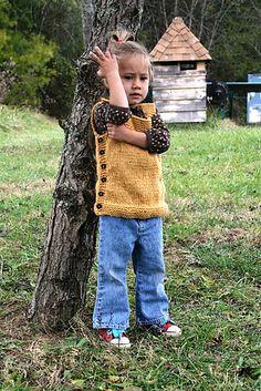 Easy knitting vest, love!!