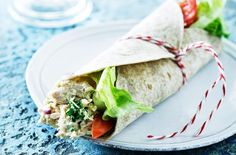 Wrap med indisk tunmousse