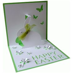 Happy Easter Card Silhouette Store