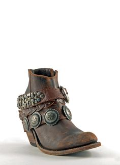 Womens Liberty Black Toscano Cowboy Boots T Moro #Lb-712310tmor #conchos #cowgirl #western