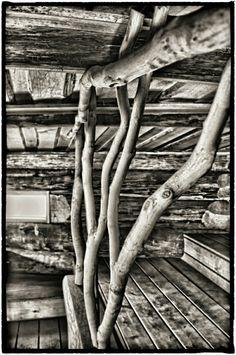 Interior of our finnish smokesauna.  Www.haikusauna.com