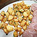 Pommes de terre sarladaises à l'Actifry® - amafacon Potato Salad, Potatoes, Vegetables, Ethnic Recipes, Food, Bar, Side Dishes, Bakken, Vegetable Recipes