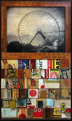 Mikel Robinson | 'Great Wheel with Boxes'