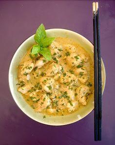 [On déguste] Curry de poulet rouge à la thaï - La femme à tête de chou @lafemmechou