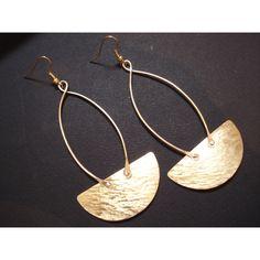 Hammered Bronze Long Hoop Earrings Pendulum Modern Riveted Earrings... ($27) ❤ liked on Polyvore featuring jewelry, earrings, bronze hoop earrings, hammered hoop earrings, long earrings, hammered jewelry and bronze earrings Womens Fashion, Fashion Trends, Hoop Earrings, Bronze, Soldering, Metal, Modern, Polyvore, Jewelry