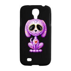 purple samsung galaxy s4 active covers | ... Dead Phone Cases > Purple Zombie Sugar Skull Samsung Galaxy S4 Case