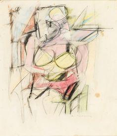 Art Provided Drawing Original Beautiful Woman Seat 19eme Century Exquisite Craftsmanship;