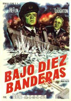 """Bajo diez banderas (1960) """"Sotto dieci bandiere"""" de Duilio Coletti - tt0054328"""