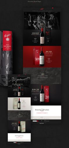 Leo Rabelo on Behance Wine Gifts, Behance, Wines