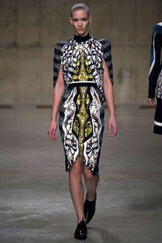 London Fashion Week: Peter Pilotto. Fall/Winter 2013/2014