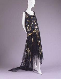 Evening Dress 1920-1923 The Metropolitan Museum of Art
