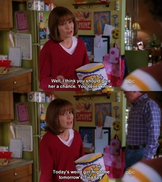 The Middle tv-show Movies Showing, Movies And Tv Shows, The Middle Tv Show, The Goldbergs, Tv Show Quotes, Film Quotes, Funny Scenes, Tina Fey, Movie Lines