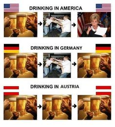 What Drinking Looks Like in America, Australia, Britain, Canada, and Ireland Stupid Memes, Stupid Funny, The Funny, Funny Jokes, Hilarious, Funny Stuff, Funny Irish Memes, Funny Drunk, Funny Images