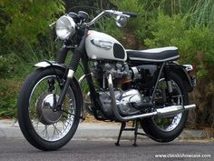 1966 Triumph Motorcycles Bonneville T120R by Classic Showcase