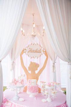 Ballerina cake table