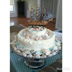 Nolans baby shower Cake by linda